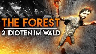 getlinkyoutube.com-2 VOLLIDIOTEN IM WALD - The Forest #1 | TwoEpicBuddies