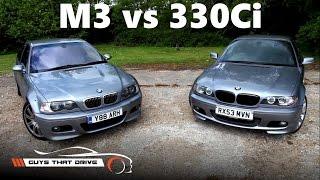 getlinkyoutube.com-BMW E46 M3 vs E46 330Ci, comparison review with stock exhausts, Part 1 of 2 | The GTD Vlog