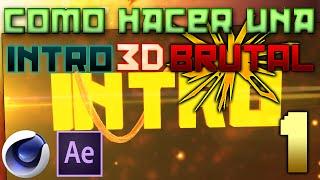 getlinkyoutube.com-¿Cómo hacer una Intro 3D BRUTAL? PARTE 1/2 (Cinema 4D)