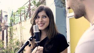 "getlinkyoutube.com-Pretty Russian girl sings ""Kahit Maputi Na Ang Buhok Ko"" w/David DiMuzio"