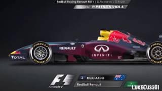 Formula 1: Possible 2017 Car Liveries?