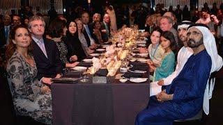 getlinkyoutube.com-محمد بن راشد يحضر حفل استقبال ملاك ومربي ومدربي الخيول المشاركة في كأس دبي العالمي