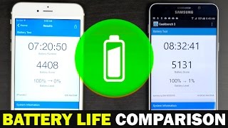 getlinkyoutube.com-Apple iPhone 6s Plus vs Samsung Galaxy Note 5 - Battery Life Comparison