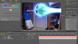 getlinkyoutube.com-After Effects Tutorial - Kamehameha