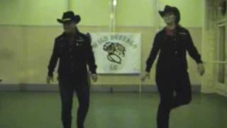 getlinkyoutube.com-Linedance - Cowboy Rhythm (WB Instructions)