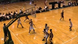 getlinkyoutube.com-2015年 中学バスケ 九州大会 西福岡 vs 別府北部 1Q