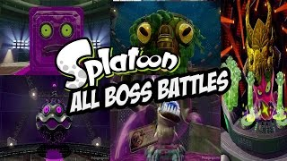getlinkyoutube.com-Splatoon - All Boss Battles