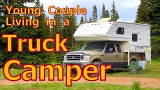 getlinkyoutube.com-Young Couple in a Truck Camper