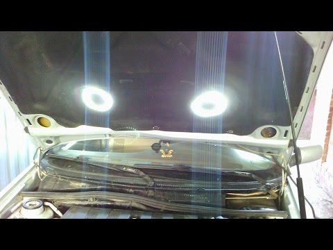 Эксплуатация Вортекс Корда. Свет под капотом,монтаж -1 часть.