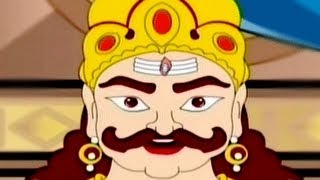 getlinkyoutube.com-Kumbhakarna: The Sleeping Demon - Tamil Animated Story Part 1