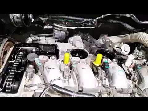 Замена прокладки клапанной крышки Evoque