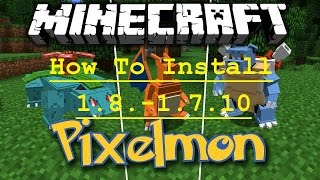 getlinkyoutube.com-วิธีลง Minecraft Pixelmon [1.8.-1.7.10]