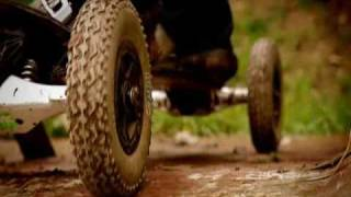 getlinkyoutube.com-Top Gear, All Terrain Skateboard vs Rally Car