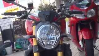 getlinkyoutube.com-TERMIGNONI テルミニョーニサウンドを聞け 凄いカスタム オールカーボン ducati 1200 monster s ドゥカティ モンスター1200S
