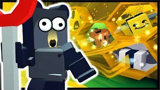 BEE SWARMS & BEAR QUESTS = BEST ROBLOX SIM EVER!! | Roblox Bee Swarm Simulator