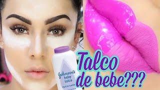 getlinkyoutube.com-MAQUILLATE CON TALCO DE BEBE