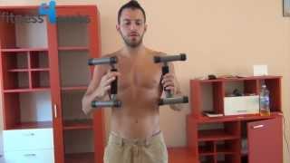 getlinkyoutube.com-تمرين لكامل عضلات الصدر من غير استخدام اوزان
