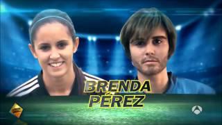 getlinkyoutube.com-Futbolista española se disfraza de hombre y humilla a sus rivales