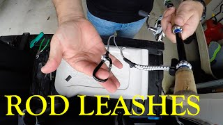 "Secure Your Investment: Part 2 ""Rod Leashes"" - Kayak Fishing"