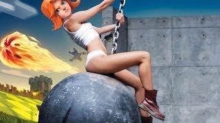getlinkyoutube.com-Clash of Clans:: Clashing Culture:: Valkyrie Wrecking Ball
