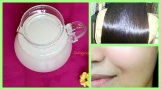 getlinkyoutube.com-Get healthy hair and beautiful flawless skin by using rice water