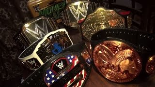 getlinkyoutube.com-Unboxing the WWE Tag Team Championship Belt & Completing my Collection!