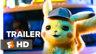 Pokémon Detective Pikachu Trailer  1  2019    Movieclips Trailers