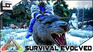 getlinkyoutube.com-ARK: Survival Evolved - TAMING A DIRE WOLF / NEW BIOMES!! S2E24 ( Gameplay )
