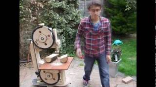 getlinkyoutube.com-Homemade Bandsaw - Pt.1