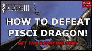 getlinkyoutube.com-Infinity Blade 3: HOW TO DEFEAT PISCI DRAGON! (Get the Darkfire Gem!)