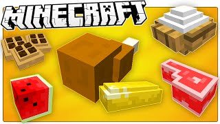 getlinkyoutube.com-Minecraft | Hungry? FEAST Your Eyes On This Awesome 3D Food Resource Pack!
