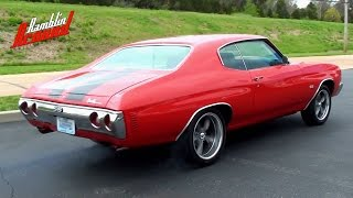 getlinkyoutube.com-Wicked Sounding 1971 Chevelle - 406 Roller Cam Chevy V8