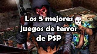 getlinkyoutube.com-Los 5 mejores juegos de terror de PSP | luigi2498