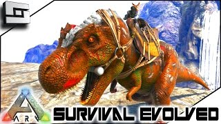 ARK: Survival Evolved - TAMING A NEW TREX! E7 ( Skies Of Nazca Map )