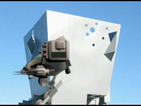 Robert Egnacheski - 3D Mech Animation Walk Test - Urban Art