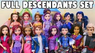 getlinkyoutube.com-Full Descendants Doll Set with the New Jay Doll. DisneyToysFan.