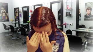 getlinkyoutube.com-Dying my Hair Strawberry Blonde!