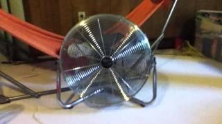 "getlinkyoutube.com-20"" Hampton Bay High Velocity Fan"