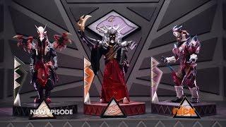 getlinkyoutube.com-Power Rangers Dino Super Charge - Recipe for Disaster - Villains Megazord Fight