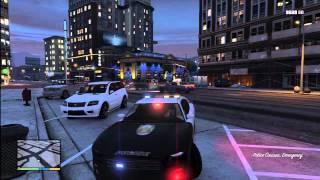 getlinkyoutube.com-Grand Theft Auto 5 - Super rare POLICE BUFFALO K9 Found on GTA V