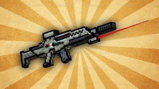 getlinkyoutube.com-Pixel Gun 3D - Secret Forces Rifle [Review]
