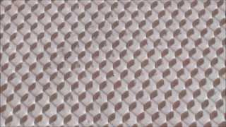 getlinkyoutube.com-Пчеловодство.Изготовление силиконовой матрицы часть вторая своя вощина The second part of its combs