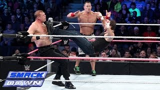 getlinkyoutube.com-John Cena & Dean Ambrose vs. Randy Orton & Corporate Kane: SmackDown, Oct. 3, 2014