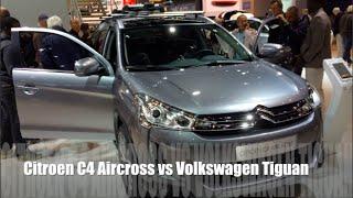 getlinkyoutube.com-Citroen C4 Aircross 2015 vs Volkswagen Tiguan 2015
