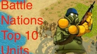 getlinkyoutube.com-Battle Nations Top 10 Units