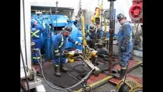 getlinkyoutube.com-Canadian Drilling Rig - The Worst Connection Ever