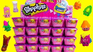 getlinkyoutube.com-20 Shopkins SEASON 2 Blind Baskets Unboxing for Shopkins SEASON 2 with 3 Ultra Rares