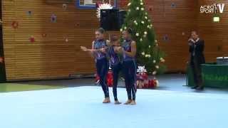 getlinkyoutube.com-Conway, Planchet, Guillot - Crecent City Gymnastics USA - Womens Group - Zwingerpokal 2013