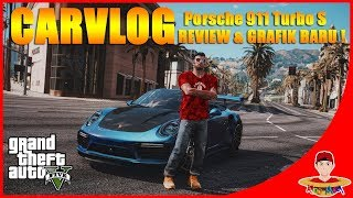 GTA V CarVlog Indonesia (1) - Grafiknya GILA !!! Balap Liar pakai mobil Porsche 911 Turbo S