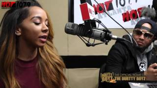 getlinkyoutube.com-Brittany Renner Shares Her Story Of How She Has Risen To Fame Over Night From Being A Fitness Model.